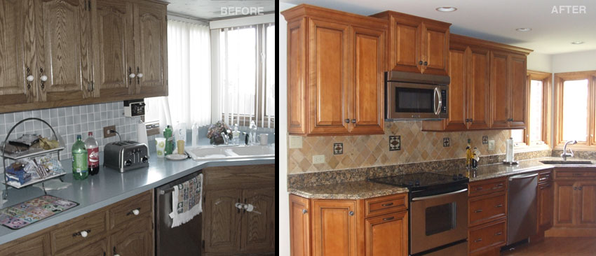 Tinley Park Kitchen And Bath Shoppe Before After Gallery